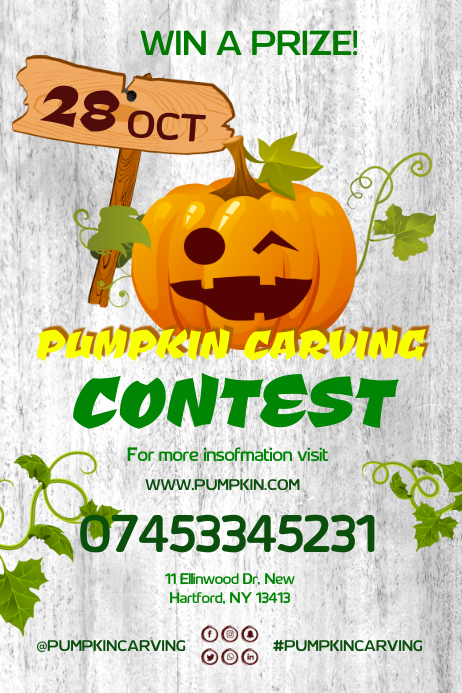 pumpkin carving festival