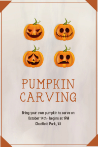 Pumpkin Carving poster
