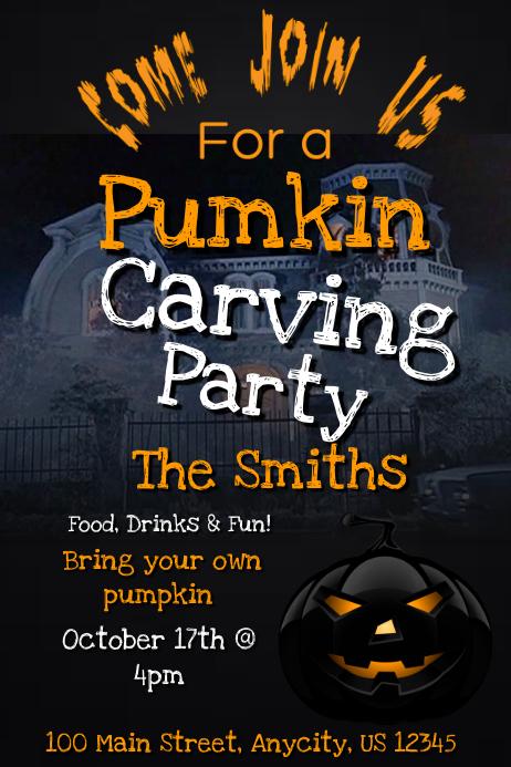 pumpkin contest template