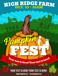 PUMPKIN FESTIVAL FLYER