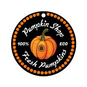 Pumpkin Quality Tag Template Cuadrado (1:1)