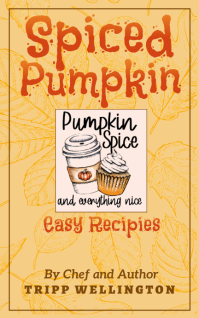 Pumpkin Spice Recipes Kindle/Book Covers template