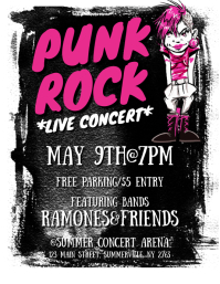 Punk Rock Flyer