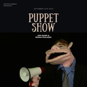 Puppet Show Video Template