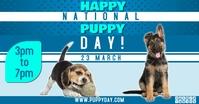 puppy day2 Reklama na Facebooka template