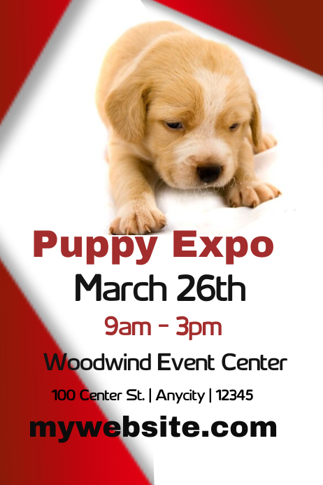 Puppy Expo Template