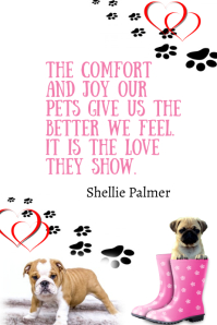 Puppy Love Positive Quote Poster