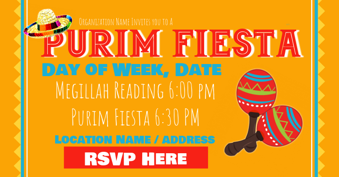 Purim Fiesta