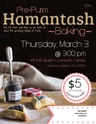 Purim Hamantash Bake