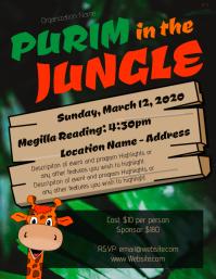 Purim in the Jungle