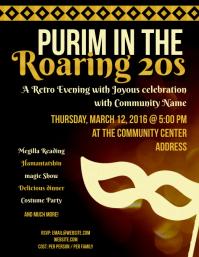 Purim in the Roaring 20s