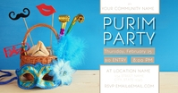 Purim Party Gambar Bersama Facebook template