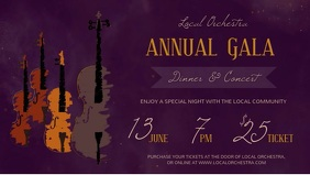Purple Annual Gala Dinner & Concert Facebook Cover Video