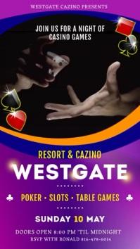 Purple Casino Royale Digital Display Advert