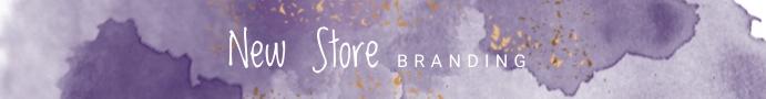 Purple Etsy Banner Template