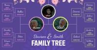 Purple Family Tree Facebook Image