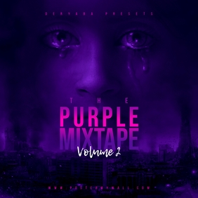 Purple Mixtape CD Cover