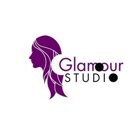 Purple nail salon template Logotipo