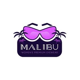Purple Premium Eyewear Logo template