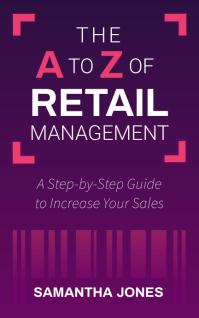 Purple Retail Management Book Cover Kindle 封面 template