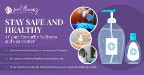 Purple Salon SOP Guidelines Facebook Post