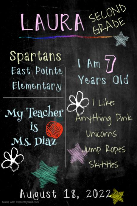 Purple Scratch School Board
