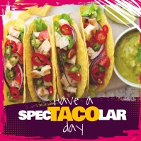 Purple Taco Food Restaurant Square Video