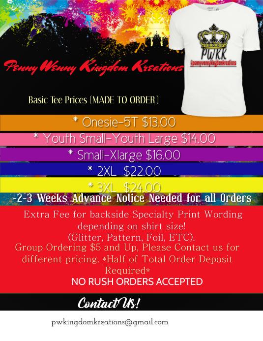 custom flyers shirt