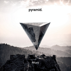 Pyramid CD Cover Art Template