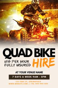Quad Bike Hire Poster