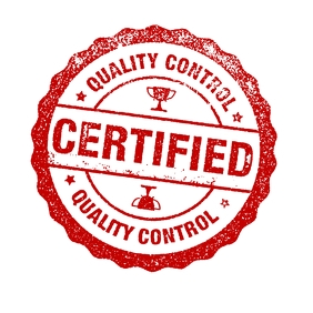 QUALITY CONTROL CERTIFIED STAMP