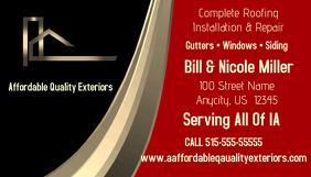 Quality Exterior business Card