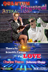 Quantum Physical Attraction Poster template