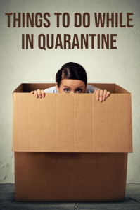 quarantine Pinterest Graphic template