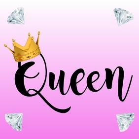 Queen Instagram Post template