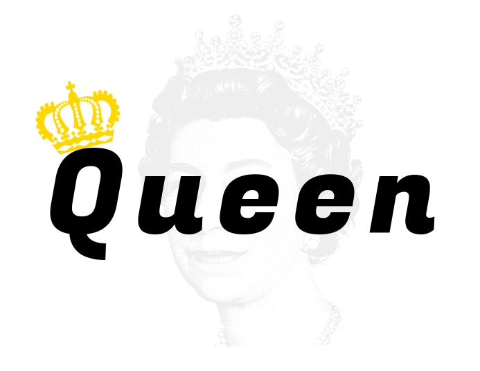 Queen Pamflet (VSA Brief) template