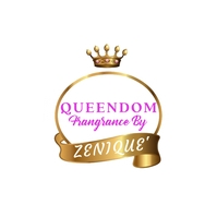 Queen logo with gold crown Логотип template