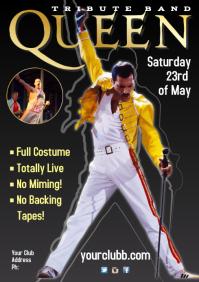 Queen Tribute Poster
