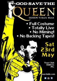 Queen Tribute Poster