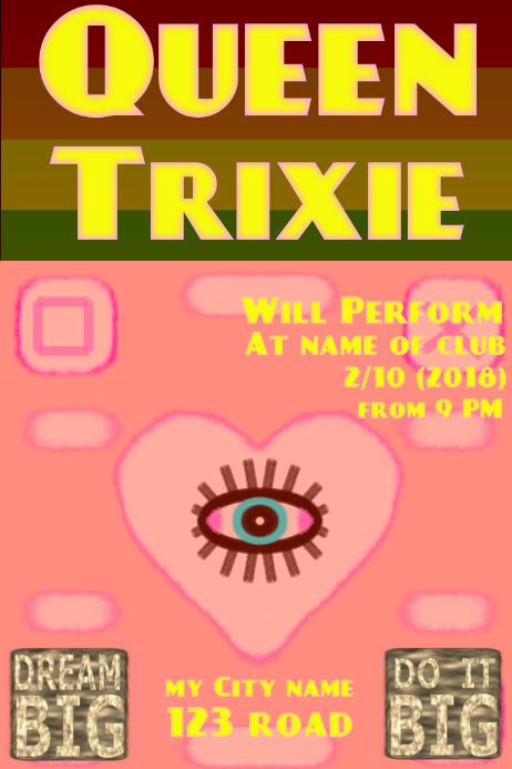 Queen Trixie - club template