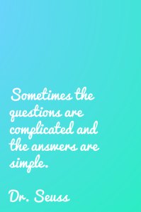 questions - dr. seuss