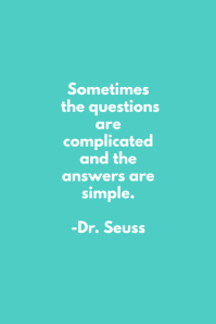 Questions Dr. Seuss