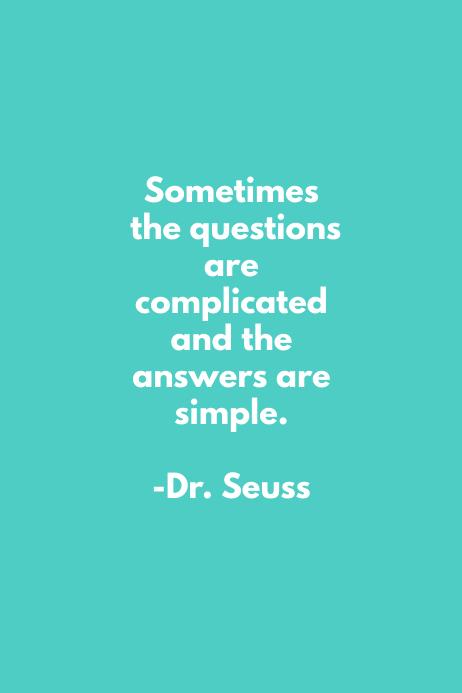 Questions Dr. Seuss