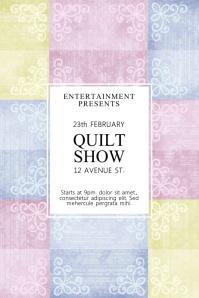 Quilt Show Flyer Template