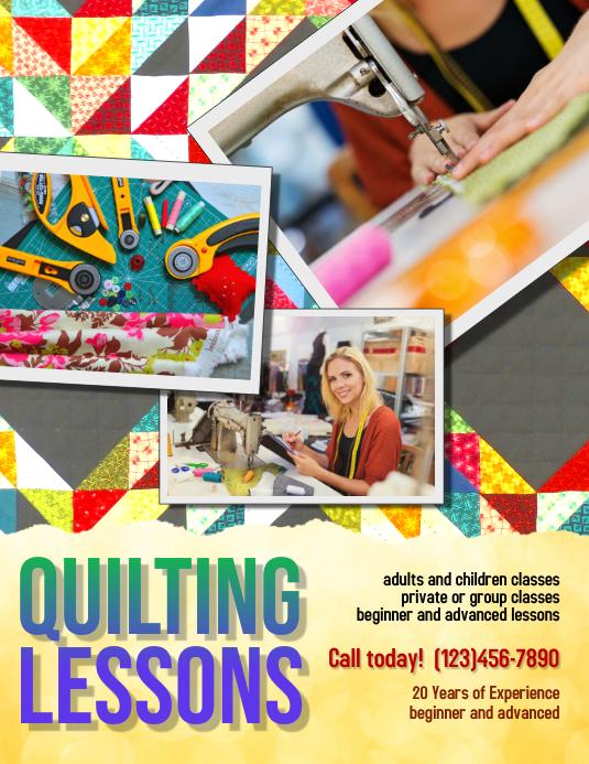 Design Art Class Brochure