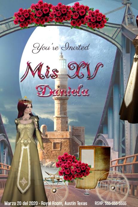 Quinceanera/Mis XV/Birthday/ Princess Party
