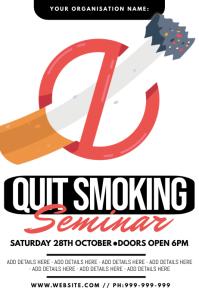 Quit Smoking Seminar Poster