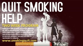 Quit Smoking Video Template Digital Display (16:9)
