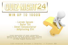 Customizable Design Templates for Quiz Night | PosterMyWall