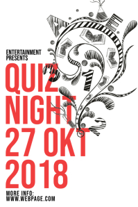 Quiz Night Flyer Template